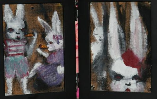 Bunnies by Bridgette Reed