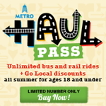 Giveaway: Capital Metro Haul Pass