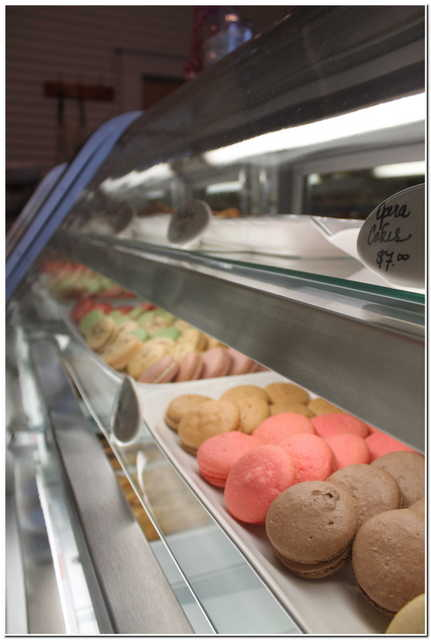 Macarons - photo courtesy of La Patisserie