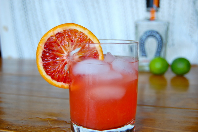 Blood Orange Margarita -- photo by Gouramanda