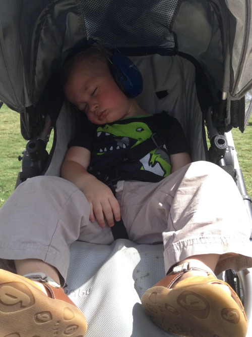What ACL does to a toddler (and, come to think of it, we felt the same way).