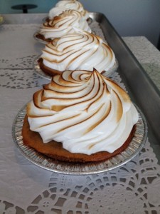 Sweet potato gingersnap pie from Sugar Mama's Bakeshop