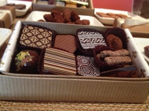 Truffles from The Chocolate Makers Studio