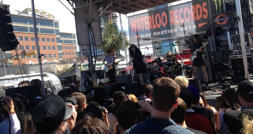 Charli XCX at Waterloo Records