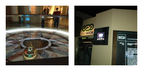 HMNS pendulum and Geovator