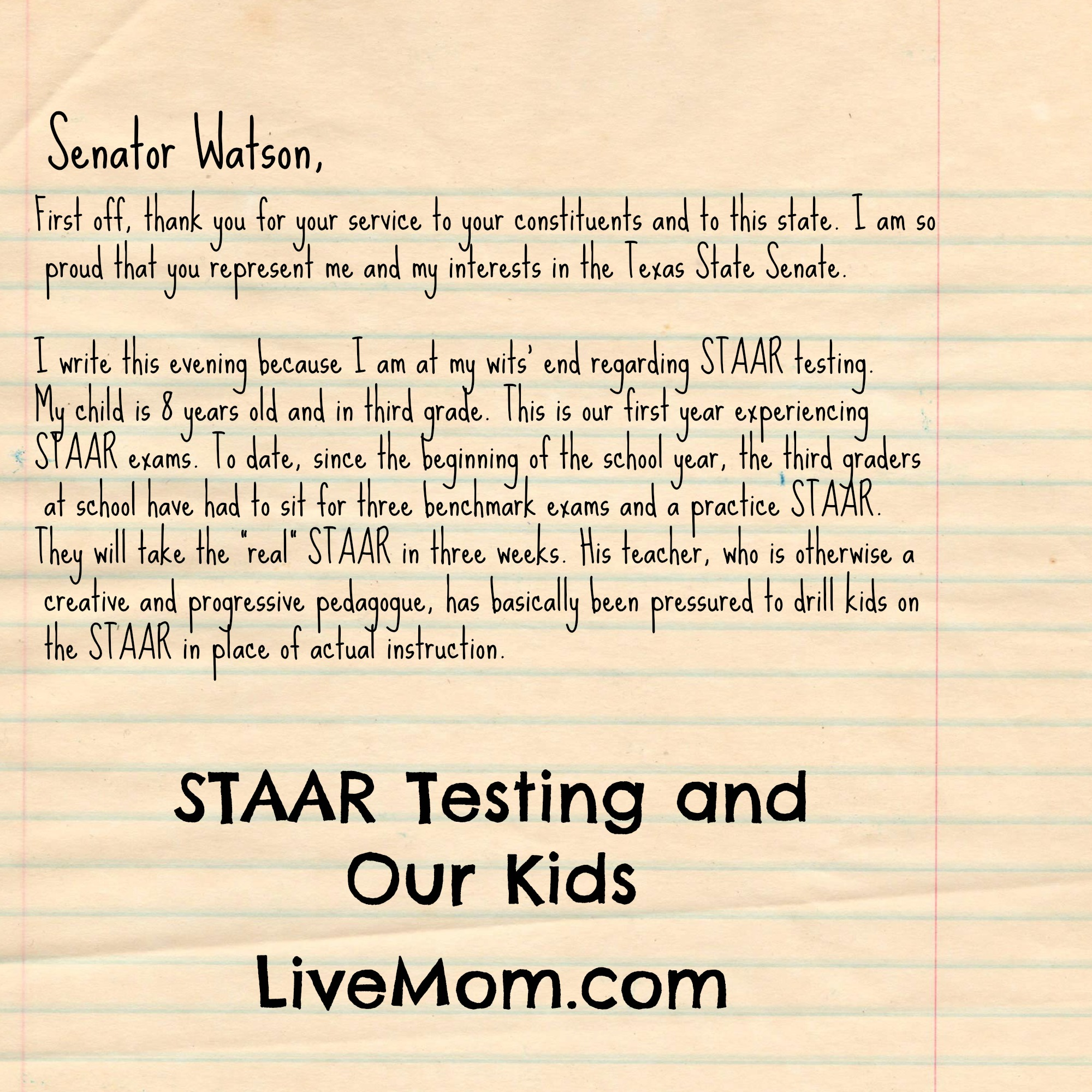 Staarg how do you feel about staar testing do your kids get stressed to the max when testing time rolls around do you agree with the rigors that children have to aljukfo Images