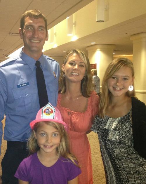 Kelly Emmert and family