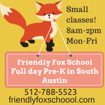 Friendly Fox School Full day Pre-K AD 150x150