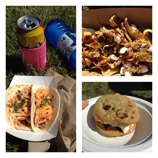 Bahn Mi pork belly tacos from The Peached Tortilla, a Nutella Frito pie from Chef Blaine Staniford (didn't see this on the menu on the other days) and my Sunday go to: Tiffwich from Tiff's Treats.
