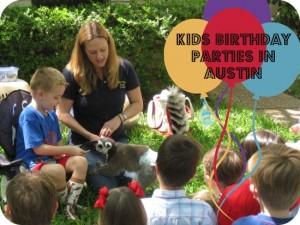 Kids birthday parties in Austin