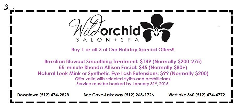 Coupon (Orange Holiday Guide 2014)