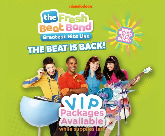 Fresh Beat Band Greatest Hits Live