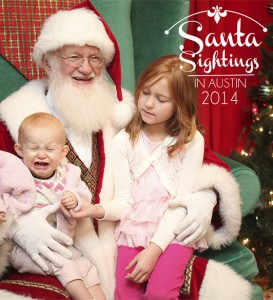 Santa sightings crying