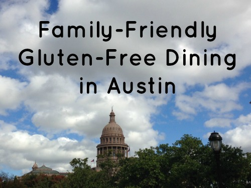 Family friendly gluten free dining