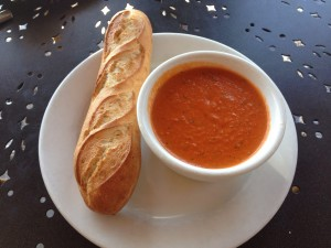 La Madeleine's tomato basil soup. Photo from La Madeleine's Facebook Page.