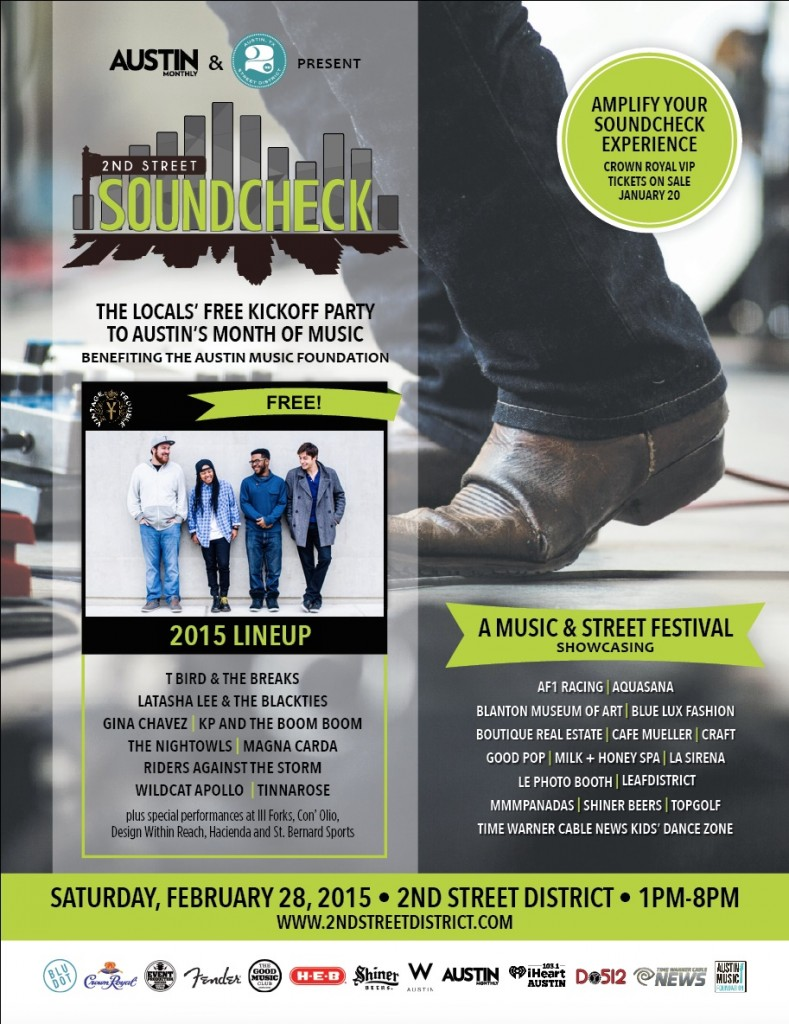 February Soundcheck Ad