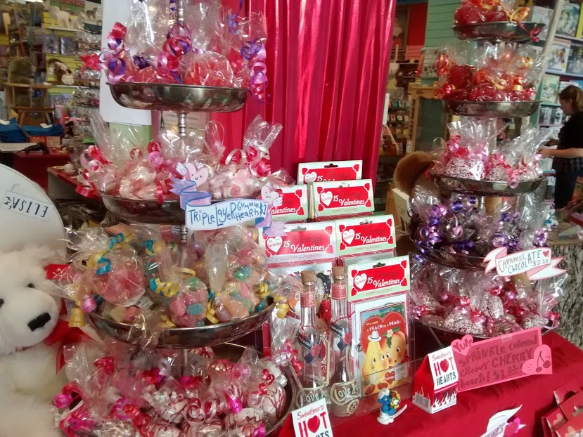 Terra Toys is your destination for sugary treats and Valentine's gifts.