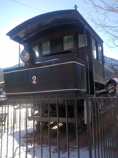 Visit the train in Manitou Springs