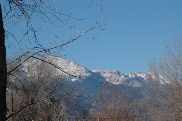 View of Pikes Peak from almost anywhere you go in the Springs!