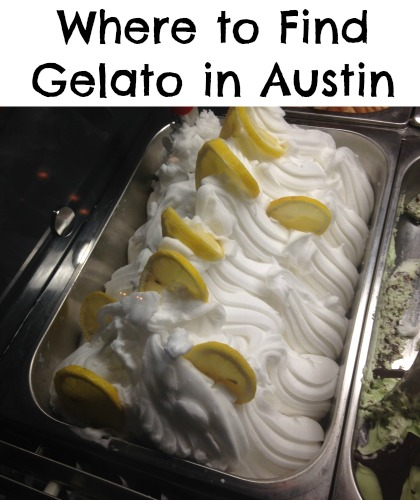 Where to find gelato in Austin