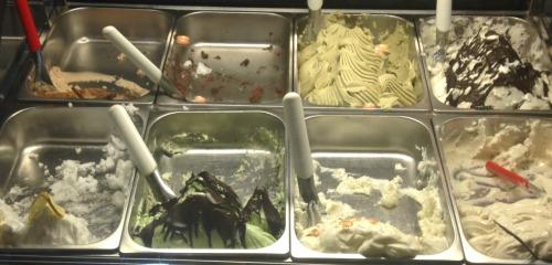 gelato case Trattoria Lisina
