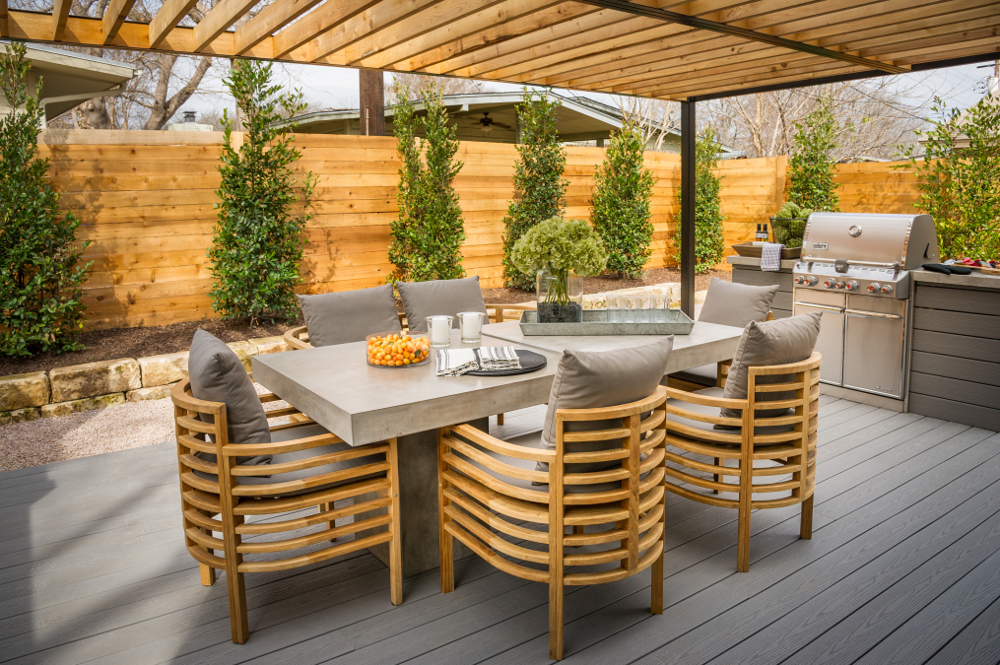 Deck of HGTV Smart Home 2015 in Austin, Texas