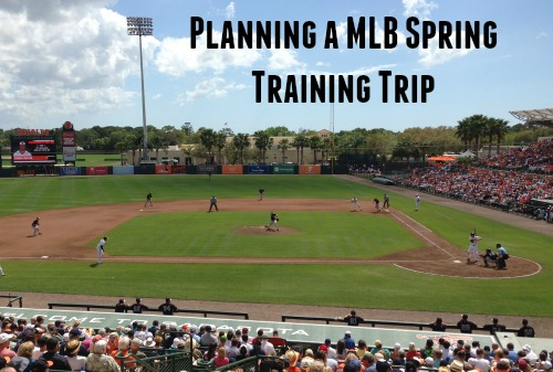 Spring Training MLB Trip