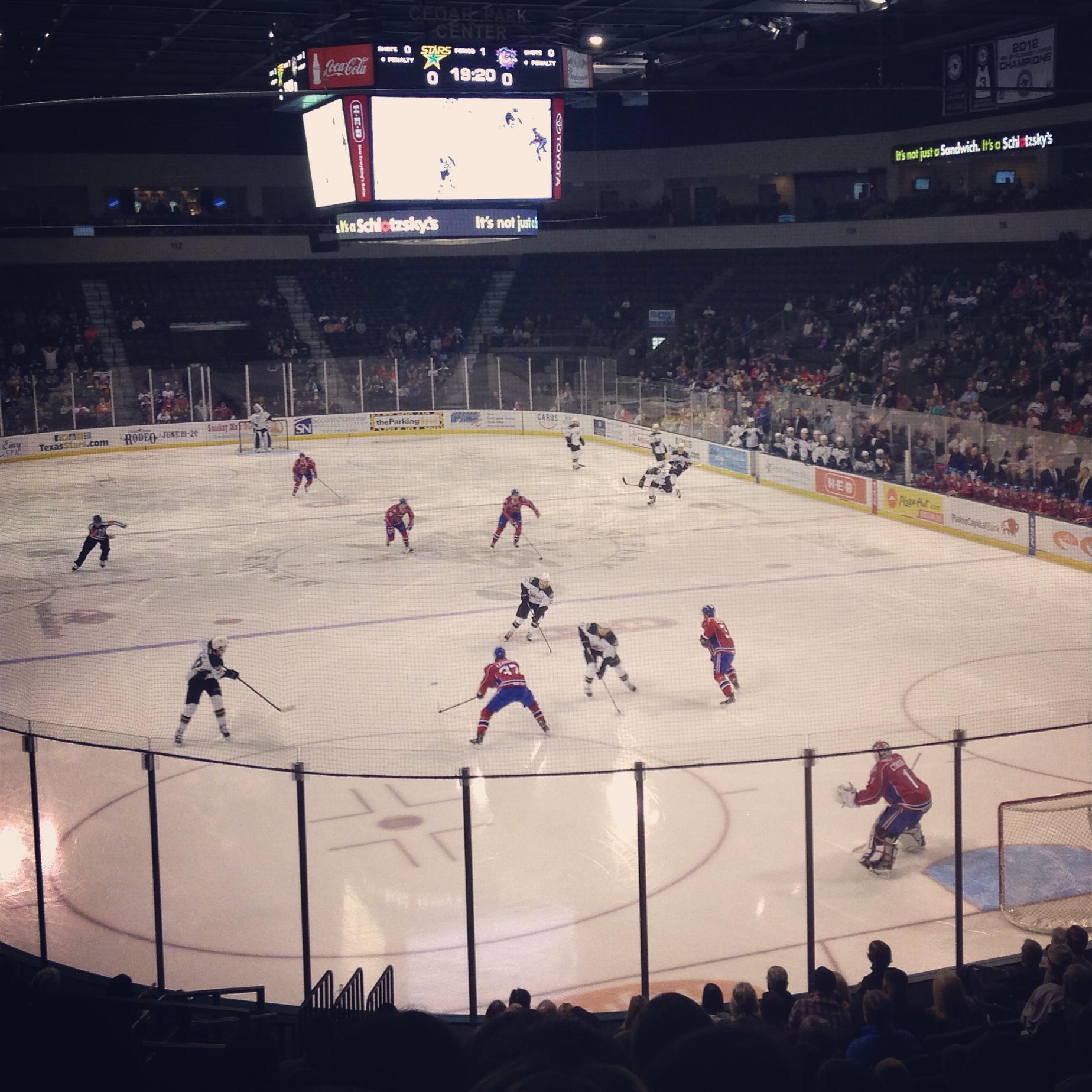 Stars hockey