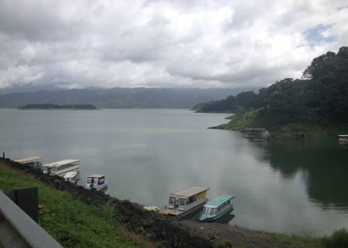 Lake Arenal is simply idyllic.