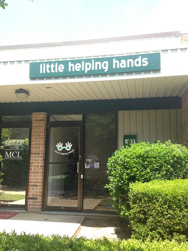 The new home of Little Helping Hands, the Austin-based non-profit which provides families with opportunities to give back -- together.