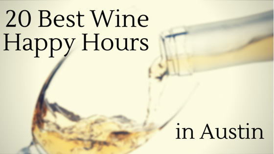 Wine Happy Hours