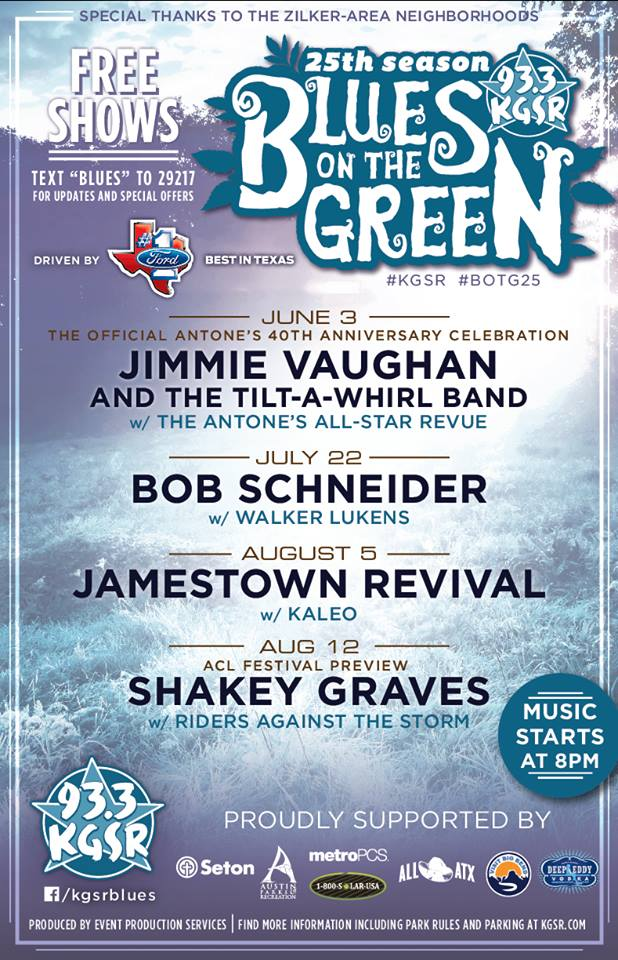 blues on the green updated