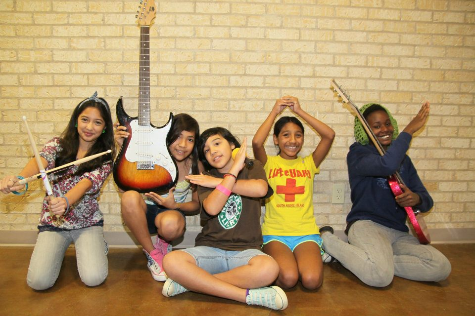 Image from Girls Rock Camp Austin Facebook Page
