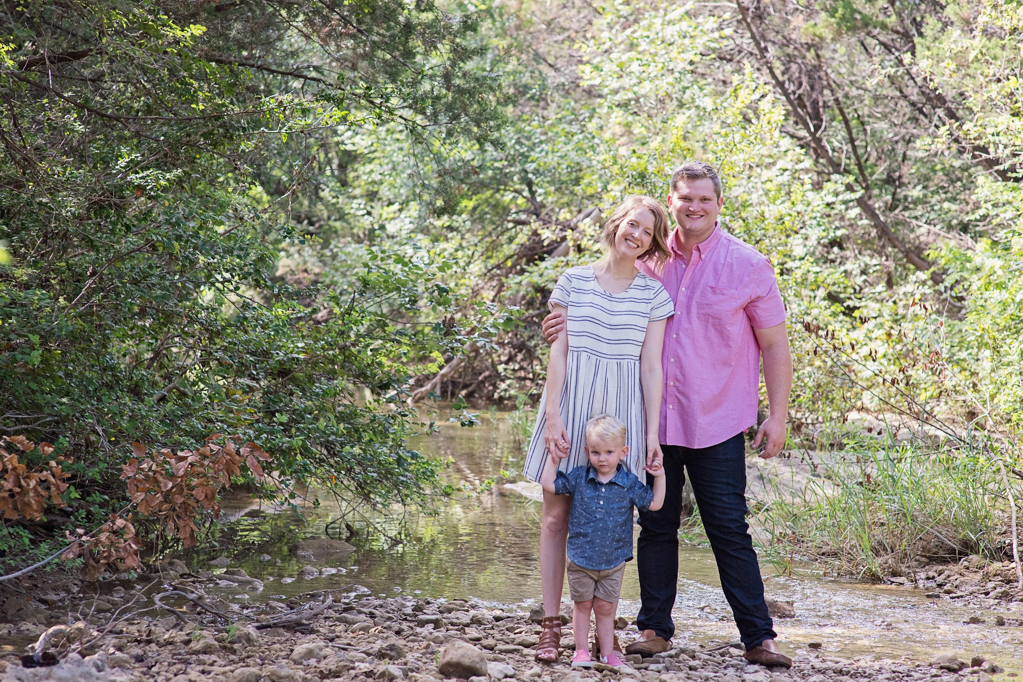 Jesse Coulter, her husband Alex and son Turner. Photo credit: Lindsey V. Rivera Photography