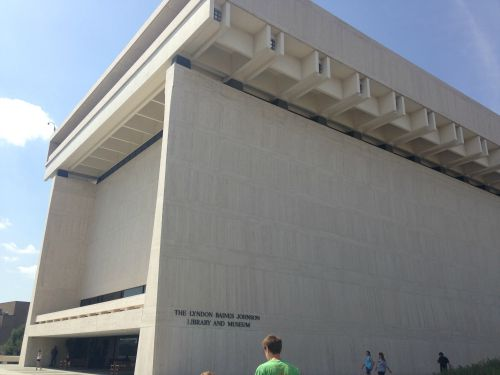 LBJ Library front
