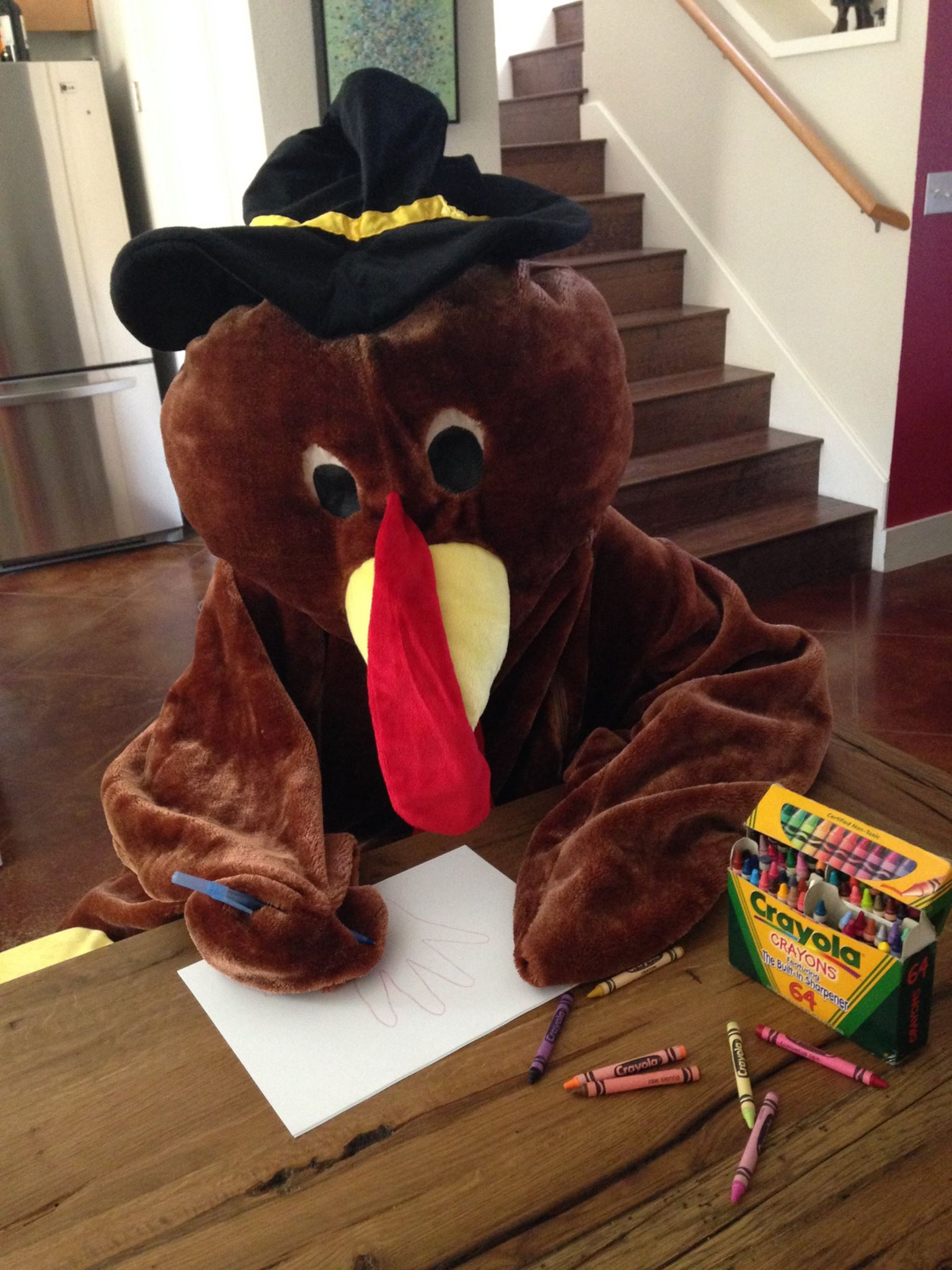 Turkey Trot art contest