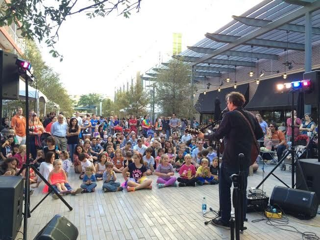 Joe McDermott headlined our Rock + Chalk event at the Domain in 2015.