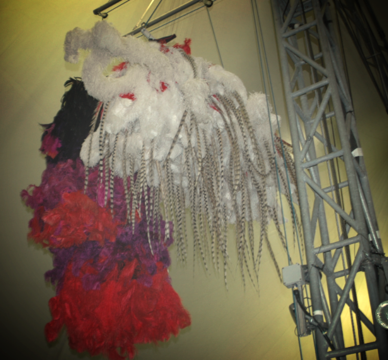 KOOZA Costumes at Cirque du Soleil