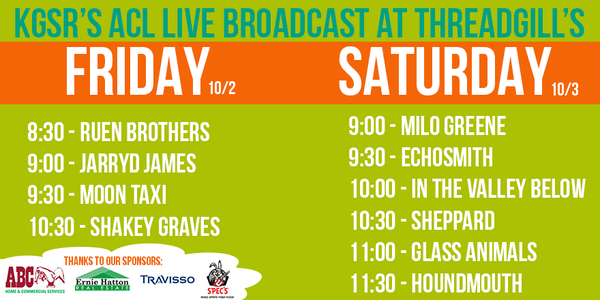 kgsr 2015 acl broadcasts