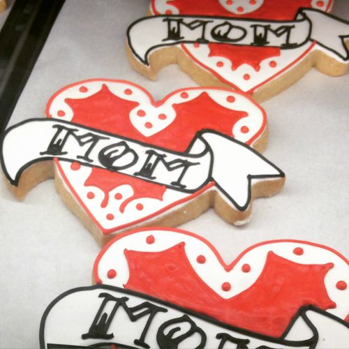 Quack's always has great seasonal decorated cookies, like these which were ready just in time for Mother's Day.