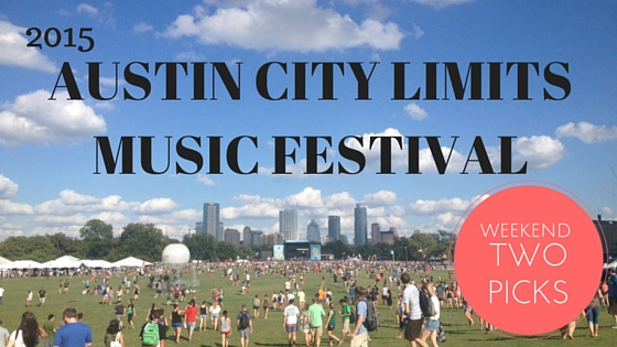 ACL Weekend Two Picks