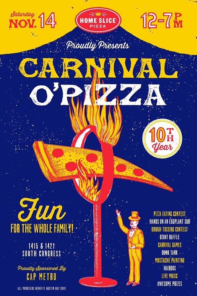 carnival o pizza 2015