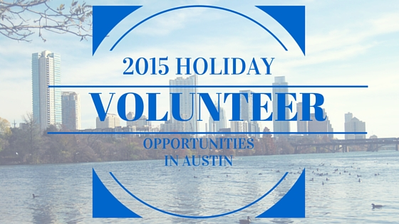 2015 HOLIDAY VOLUNTEERING