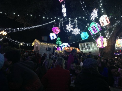 Mozarts lights crowd