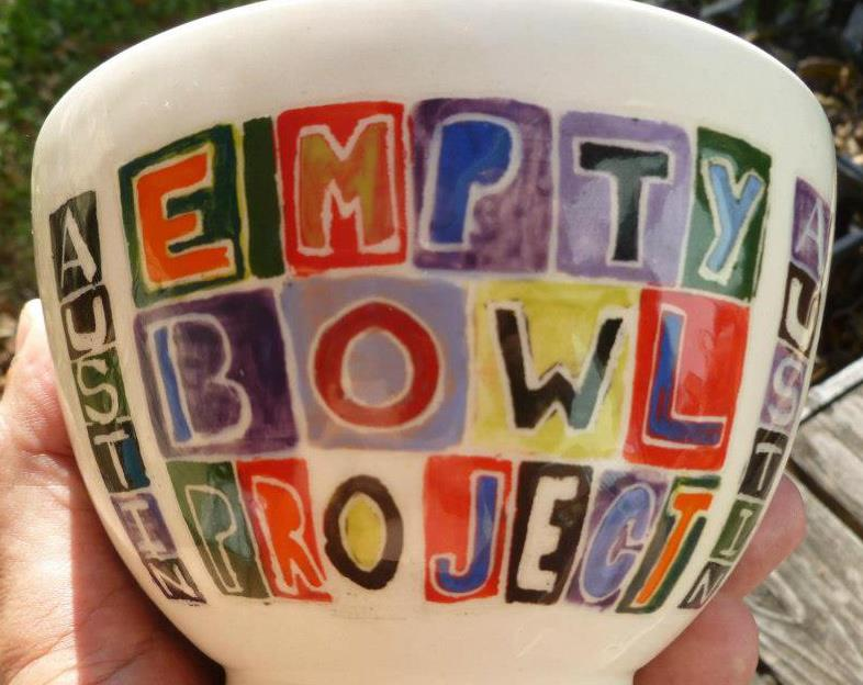 Photo from Austin Empty Bowl Project Facebook page.