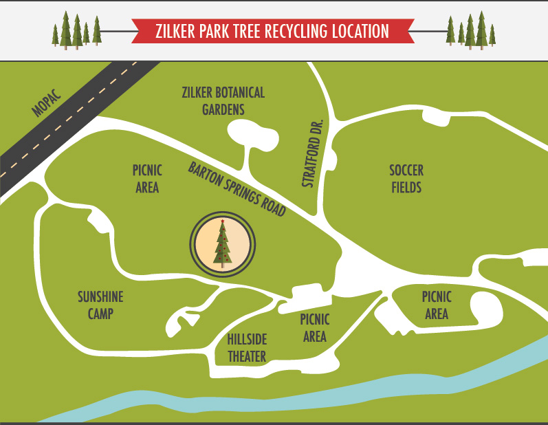 Map from City of Austin website