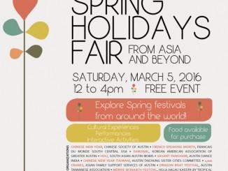 Spring Holidays Flyer