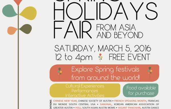 Spring Holidays Flyer