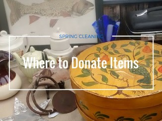 Where to Donate Items