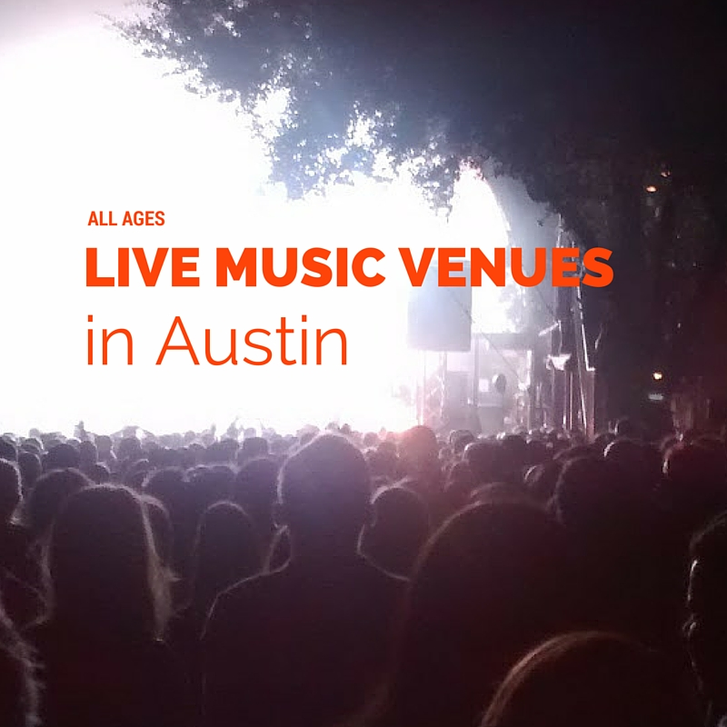 Live Music Venues for Kids of All Ages in Austin